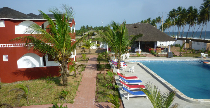 Hôtel océan et lagune Grand-bassam azuretti